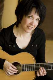 Tamara Lewis With Guitar