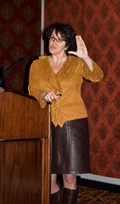 Dr. Suzanne Vernon at the Reno Conference