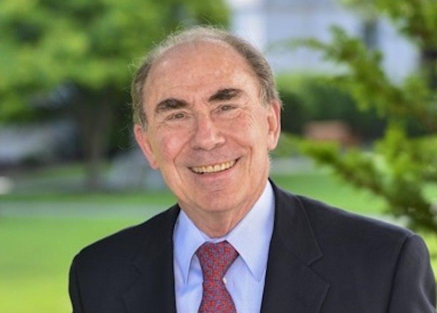 Photo of Dr. Anthony Komaroff, smiling outside.