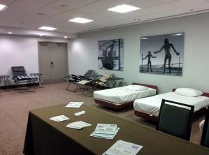 Break Room at IACFS/ME