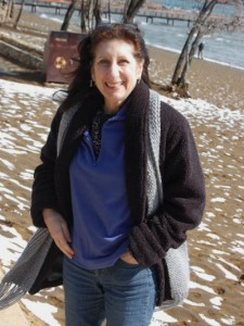 Corinne at Dr Petersons Lake Tahoe