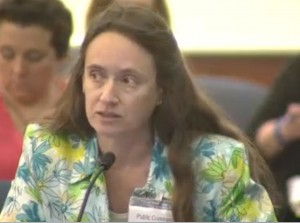 Courtney Miller, wife of Bob, representing Simarron Research