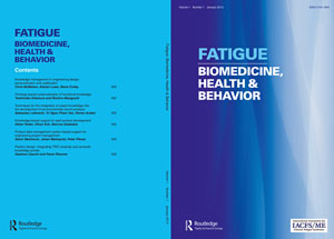 The IACFS/ME's Fatigue Journal will debut in January, 2013