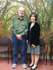Dr Davis and Ms Tattenbaum