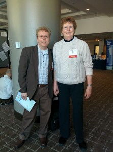 Drs Mark and Marcie Zinn at IACFS/ME