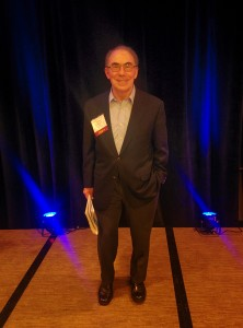 Dr. Antony Komaroff at the conference. Photo courtesy of searcher.