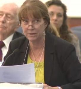 Mary Dimmock spoke on behalf of Joan Grobstein