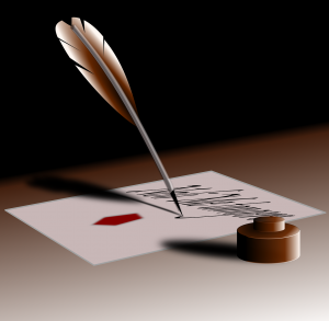Quill and Ink - Pixabay - Oct 2013