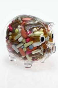 Piggybank used up by money for medications? The drug discount programs listed here could save you a bundle