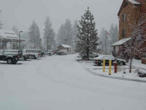 Snowstorm Lake tahoe Corinnes visit Dr Peterson March 2012