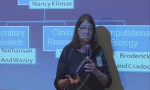 Nancy Klimas presenting