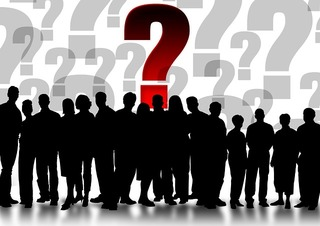 pixabay question silhouettes