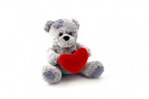 Teddy, heart and patch